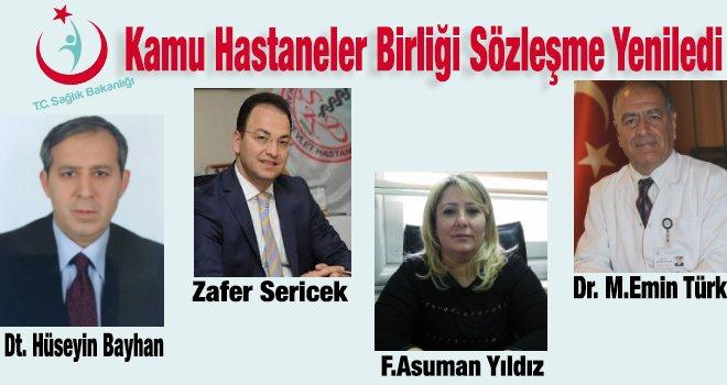 Gaziantep'te birçok hastane yöneticisi sözleşme yeniledi