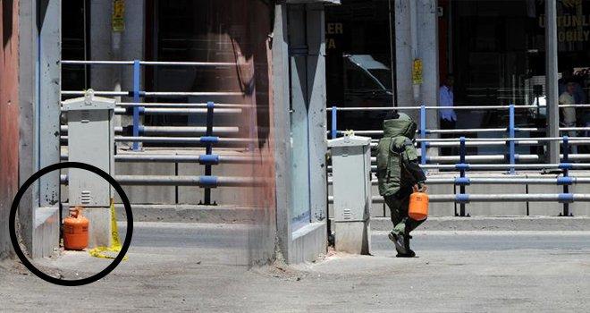 Gaziantep'te bomba paniği!.. Sokağa bırakılan tüp...