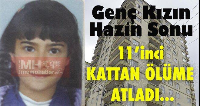 Gaziantep'te bunalıma giren genç kız intihar etti...