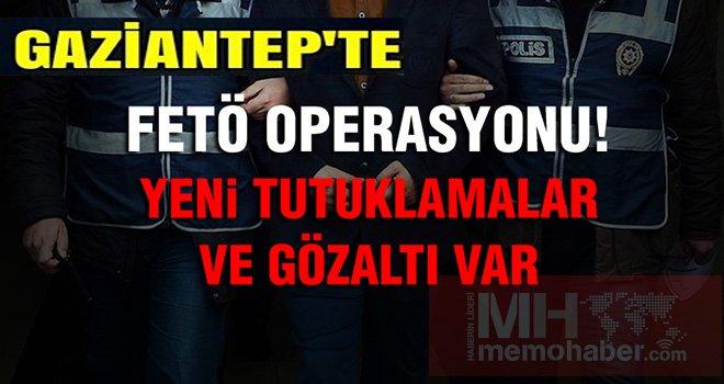 Gaziantep'te Büyük FETÖ kripto operasyonu!  çok sayıda  gözaltı var