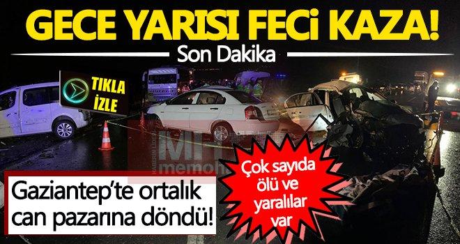 Gaziantep'te can pazarı! Çok sayıda ölü ve yaralı var...