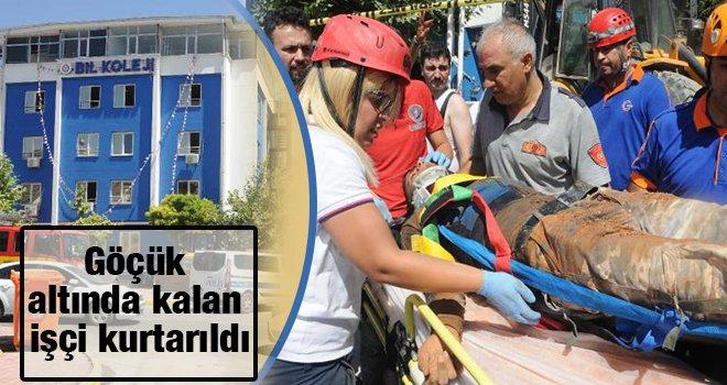 Gaziantep'te can pazarı! Okulun tavanı çöktü...