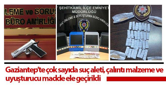 Gaziantep'te çeşitli suçlardan aranan 462 şahıs yakalandı