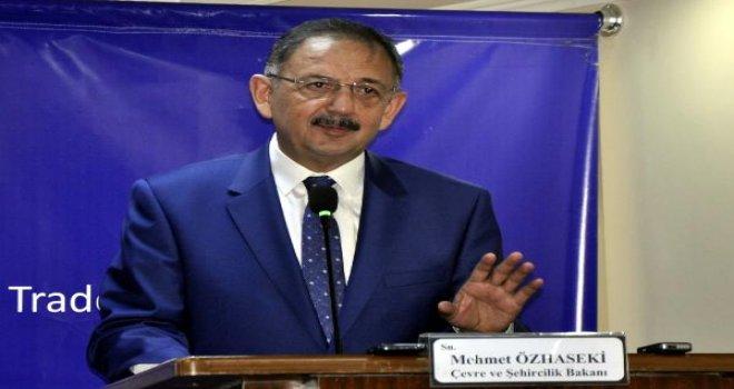 Gaziantep'te, Çevre Bakanı'ndan Baykal'a şok benzetme