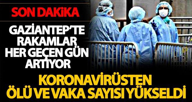 Gaziantep'te Coronavirüs salgınından ölü sayısı yükseldi
