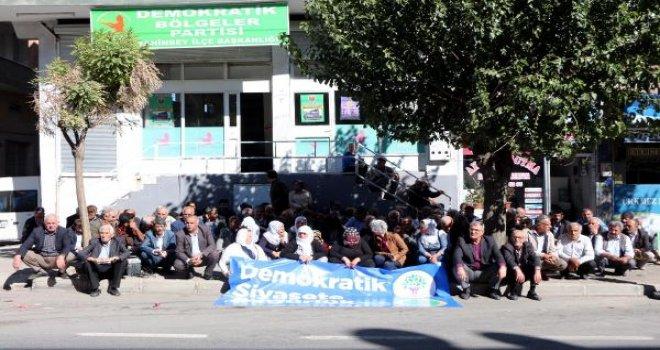 Gaziantep'te DBP'li başkanlara gözaltı tepkisi