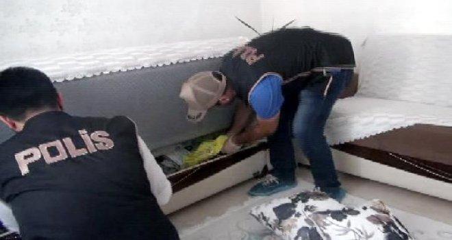 Gaziantep'te DEAŞ operasyonu: 5 gözaltı