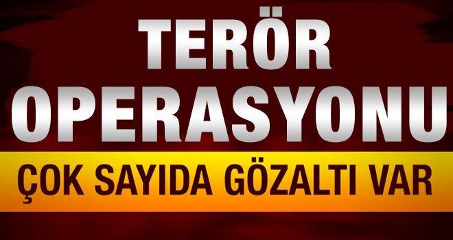 Gaziantep'te Dev Operasyon... Çok sayıda gözaltı var