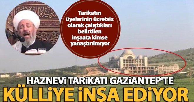 Gaziantep'te devasa büyüklüğünde külliye inşa ediliyor