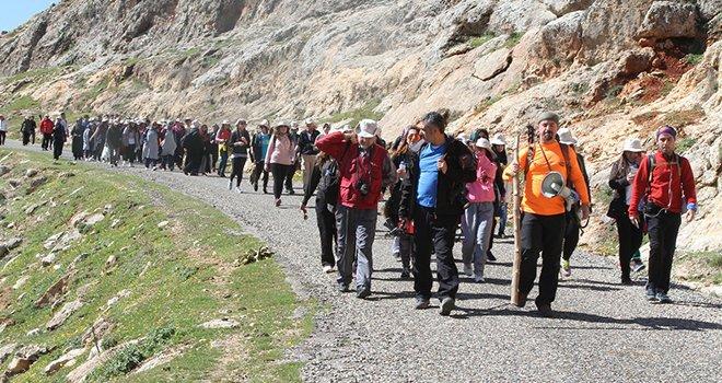 Gaziantep'te doğa yürüyüşü
