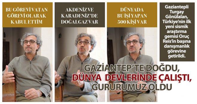 Gaziantep'te doğdu, devlerle çalıştı, gururumuz oldu