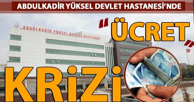 Gaziantep'te doktorların ücret isyanı: İki aydan beri alamadılar