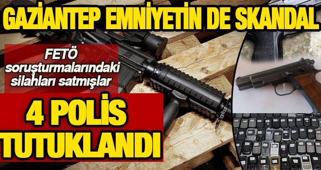 Son Dakika! Gaziantep'te emniyet'ten silah kaçırma...