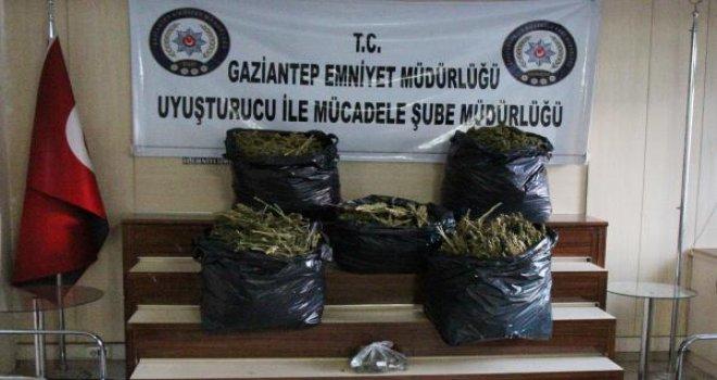 Gaziantep'te eş zamanlı uyuşturucu operasyonu