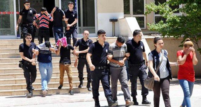 Gaziantep'te evlilik vaadiyle gaspa 6 tutuklama
