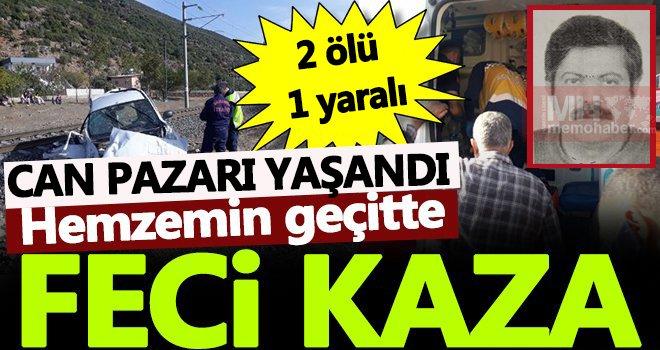 Gaziantep'te feci kaza! 2 ölü 1 yaralı