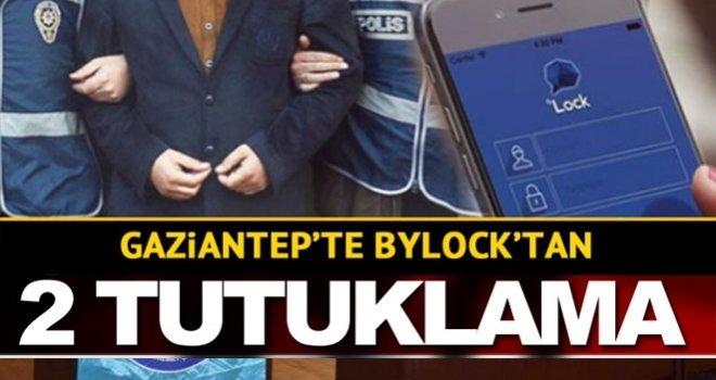 Gaziantep'te FETÖ operasyonu ! 2 ByLock tutuklama