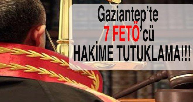 Gaziantep'te FETÖ'nün yargı ayağına ağır darbe!..