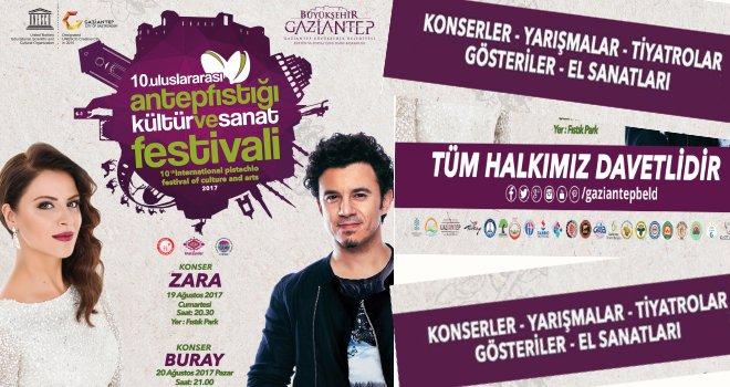 Gaziantep'te fıstık festivali başlıyor...