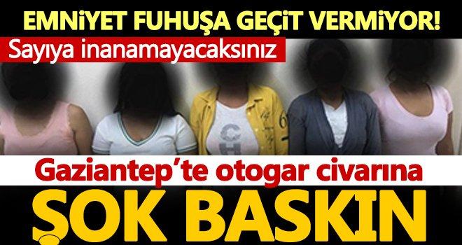 Gaziantep'te fuhuş operasyonu! Çok sayıda gözaltı var...