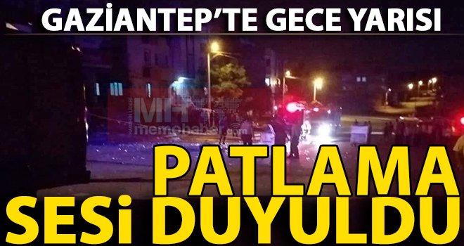 Gaziantep'te gece yarısı lokantada büyük patlama!..