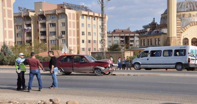 Gaziantep'te gelin ve damat kaza yaptı! 4 yaralı...