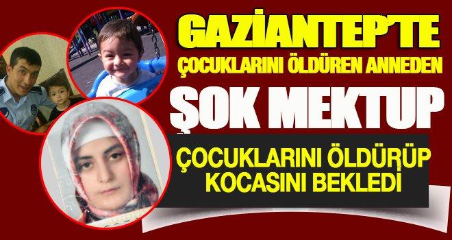Gaziantep'te hamile kadın, 2 çocuğunu öldürüp, intihara kalkıştı