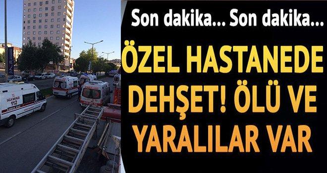 Gaziantep'te hastanede büyük yangın! ölüler ve yaralılar var