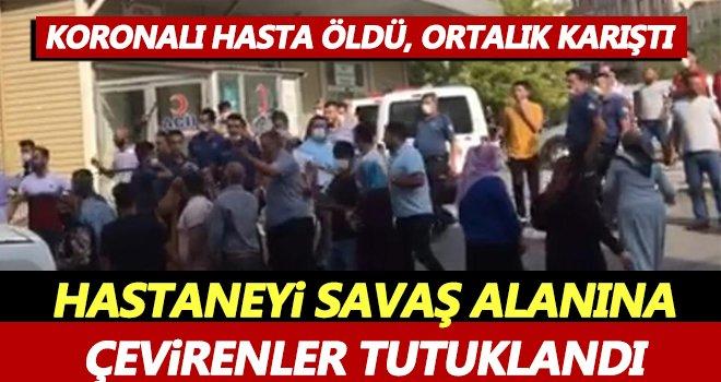 Gaziantep'te hastaneyi savaş alanına çevirenler tutuklandı