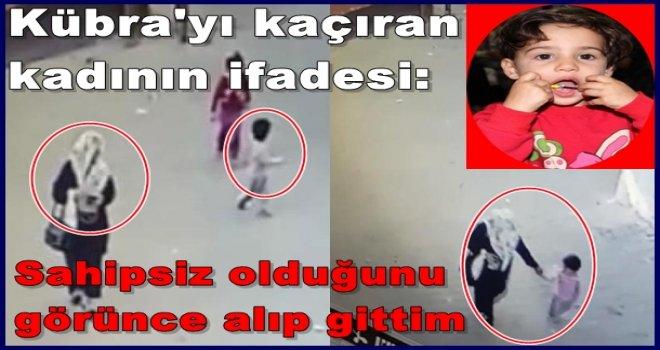 Gaziantep'te Hatice Kübra'yı kaçıran kadın yakalandı