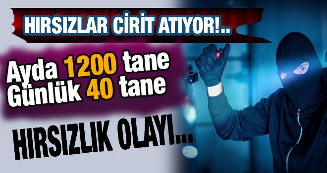 Gaziantep'te hırsızlık olayları her geçen gün artıyor!..