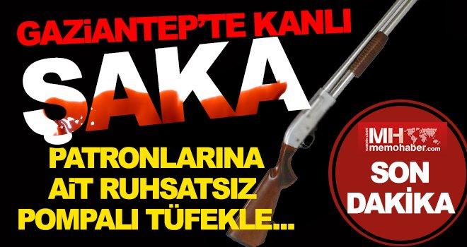 Gaziantep'te iki tamirci çırağının şakası kanlı bitti