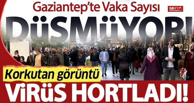 Gaziantep'te insanlar virüs yokmuş gibi davranıyor