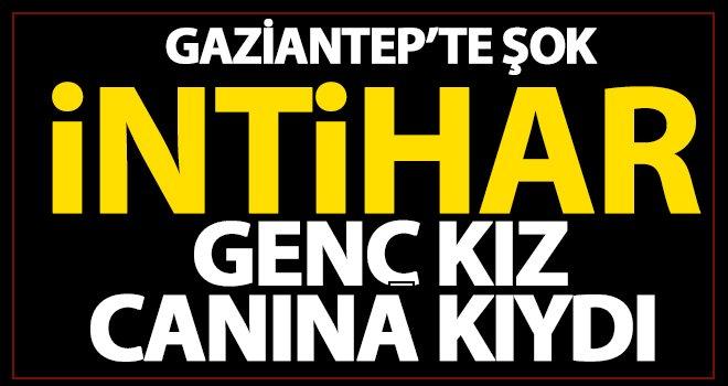 Gaziantep'te intihar! 22 yaşında canına kıydı