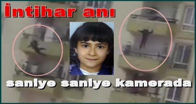 Gaziantep'te intihar anı cep telefonu kamerasında