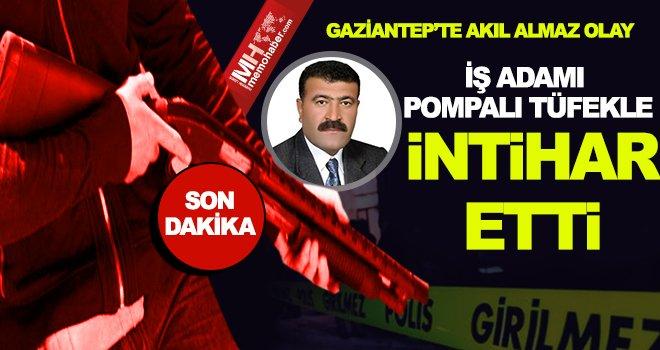 Gaziantep'te iş adamının hazin sonu: Borç intihar getirdi
