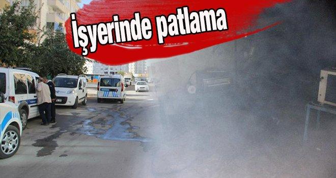 Gaziantep'te işyerinde patlama: 2 yaralı