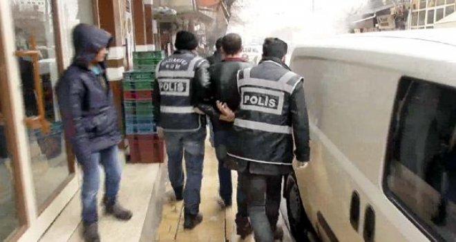 Gaziantep'te işyerine silah ve uyuşturucu operasyonu