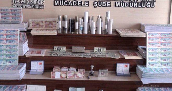 Gaziantep'te sahtecilik operasyonu: 4 gözaltı