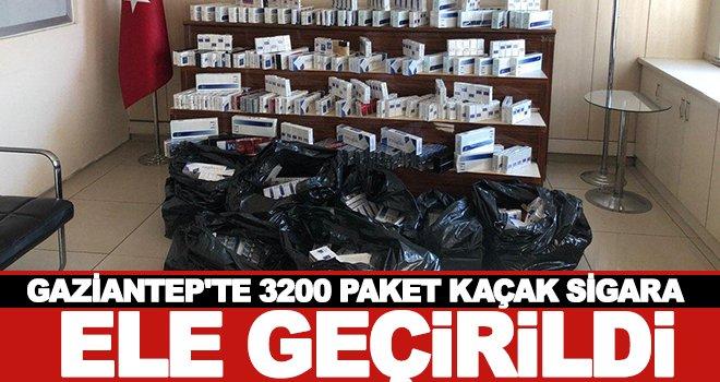 Gaziantep'te kaçak sigara operasyonu! 1 gözaltı