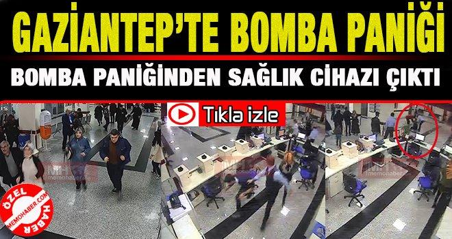Gaziantep'te kalp hastasını canlı bomba sandılar