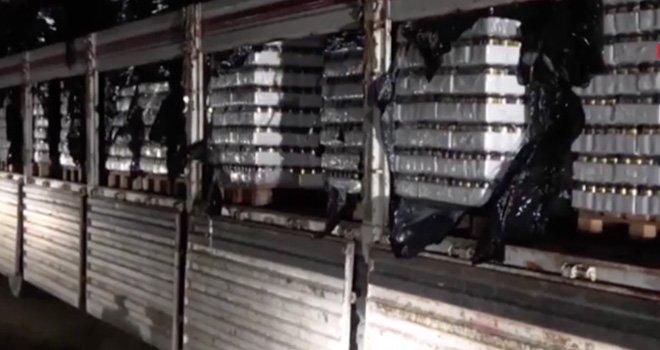 Gaziantep'te kamyon dolusu sahte içki ele geçirildi: 1 tutuklama