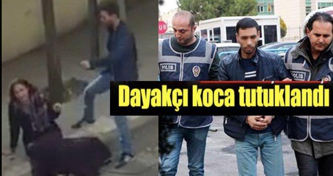Gaziantep'te karısını döven o koca tutuklandı