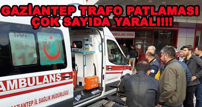 Gaziantep'te Karkamış barajında patlama:Yaralılar var