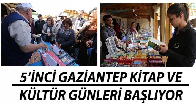 Gaziantep'te, Kitap ve Kültür Günü gerçekleşecek