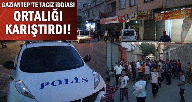 Gaziantep'te Kız çocuğuna yönelik taciz iddiası, mahalleyi ayağa kaldırdı