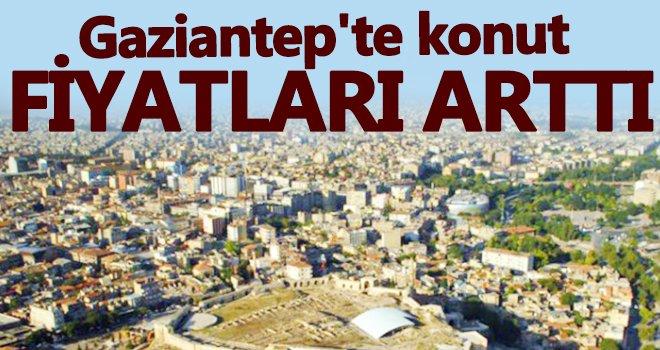 Gaziantep'te konut fiyatlarının en fazla arttığı bölgeler nereler