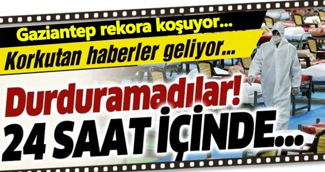 Gaziantep'te korkunç artışın önüne geçilemiyor...