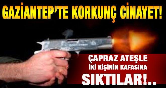 Gaziantep'te korkunç cinayet! Otomobile kurşun yağdırdılar