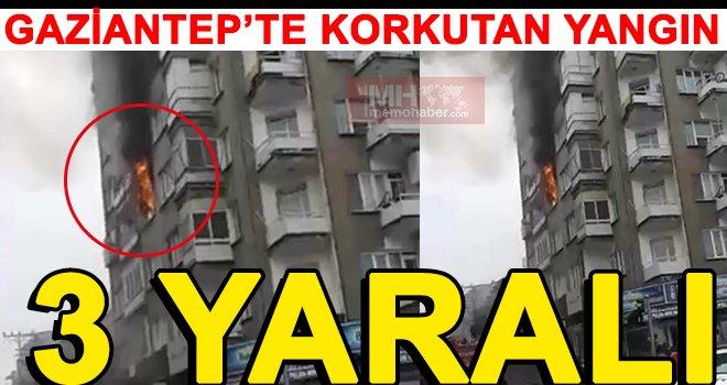 Gaziantep'te korkutan yangın: 3 çocuk dumandan zehirlendi